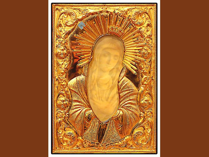 В Борисов пребывает мироточивая икона Пресвятой Богородицы «Умиление»