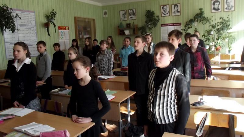 Школьникам 9-ой школы рассказали о старинных церковных книгах