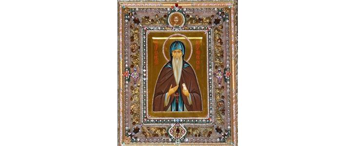 В храм Димитрия Донского прибывает икона святого преподобного Елисея Лавришевского