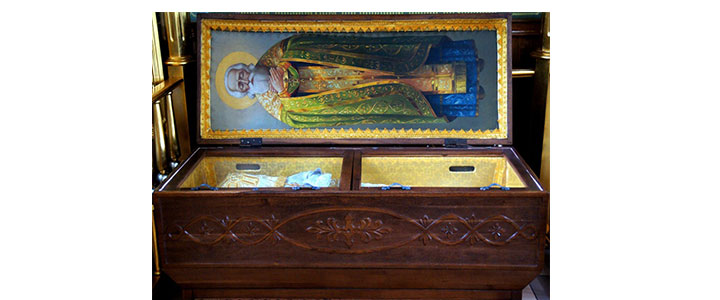 Паломничество к мощам праведного Иоанна Кормянского