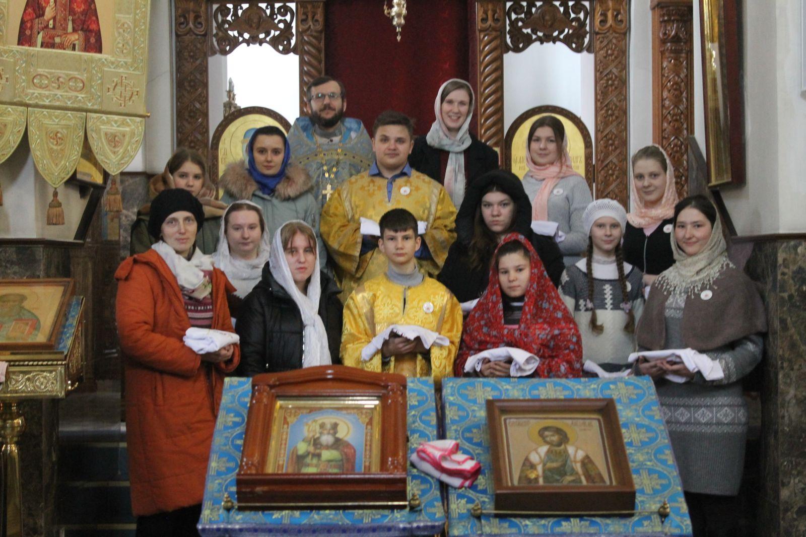 Посвящение в братчики состоялось в кафедральном соборе Воскресения Христова г. Борисова