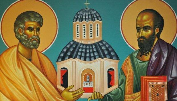 Память святых первоверховных апостолов Петра и Павла